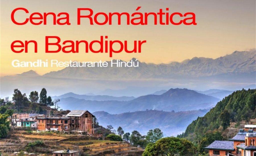 Cena San Valentin - Cena Romántica en Bandipur